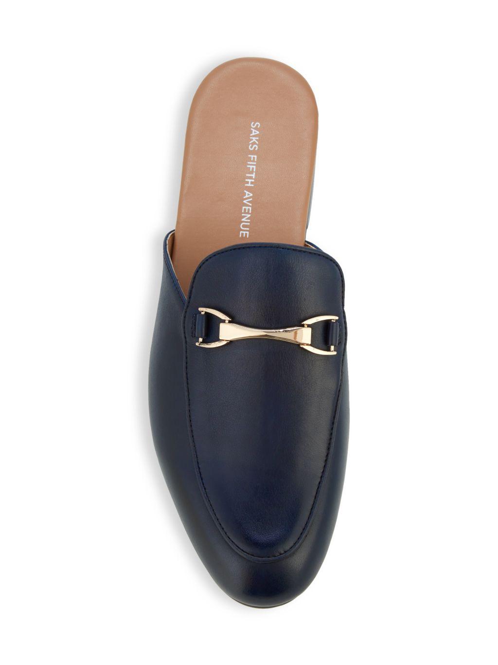 Saks Fifth Avenue Ronan Leather Mules