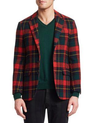 Ralph Lauren Coats Holiday Tartan Sportcoat