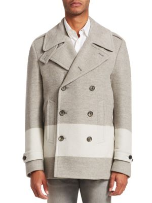 Ralph Lauren Coats Leadenhall Wool-Blend Peacoat