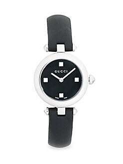 83ea7cac3e97 Analog Studded Dial Leather Strap Watch BLACK. QUICK VIEW. Product image