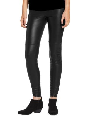 Hue Pants Leatherette Leggings