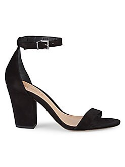 39795ae1069 QUICK VIEW. Schutz. Suede Heeled Sandals