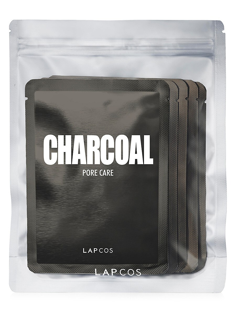 Women's 5-Pack Daily Charcoal Pore Care Firming Masks