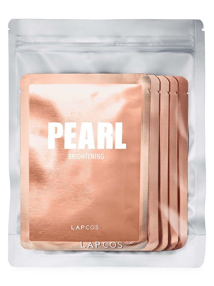 Women's 5-Pack Pearl Brightening Daily Sheet Masks