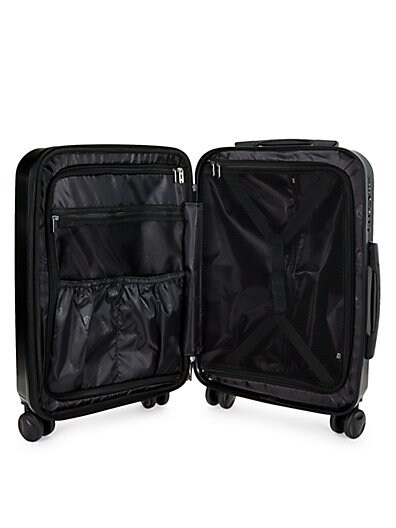 538d202d7510 ... Roberto Cavalli Classic Logo Carry-On Luggage