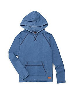 f4d2c702d991 Little Boy s Hooded Sweatshirt INDIGO. QUICK VIEW. Product image. QUICK VIEW
