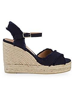 64c7e586586e0 QUICK VIEW. Castañer. Bromelia Canvas Espadrille Wedge Sandals