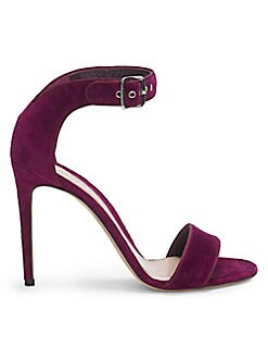 90b31310 NEW. Suede Ankle Strap High Heel Sandal NIGHTSHADE. QUICK VIEW. Product  image