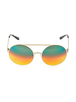 d7c14a7612c61 QUICK VIEW. Michael Kors. 55MM Multicolored Aviator Sunglasses