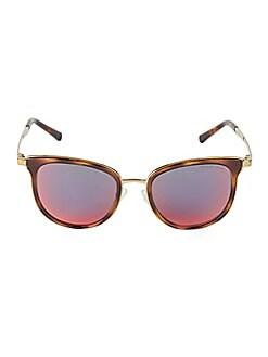 bb0f772f85259 QUICK VIEW. Michael Kors. 54MM Tortoiseshell Square Sunglasses