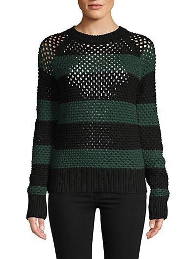 83257eddc73 Proenza Schouler Crochet Wool Sweater ...