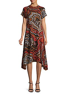 5986962d648c QUICK VIEW. M Missoni. Abstract Print Handkerchief Dress