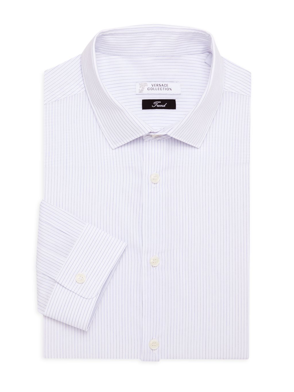 Versace Collection Trend-Fit Pinstripe Shirt