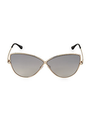 55 Mm Butterfly Sunglasses by Fendi