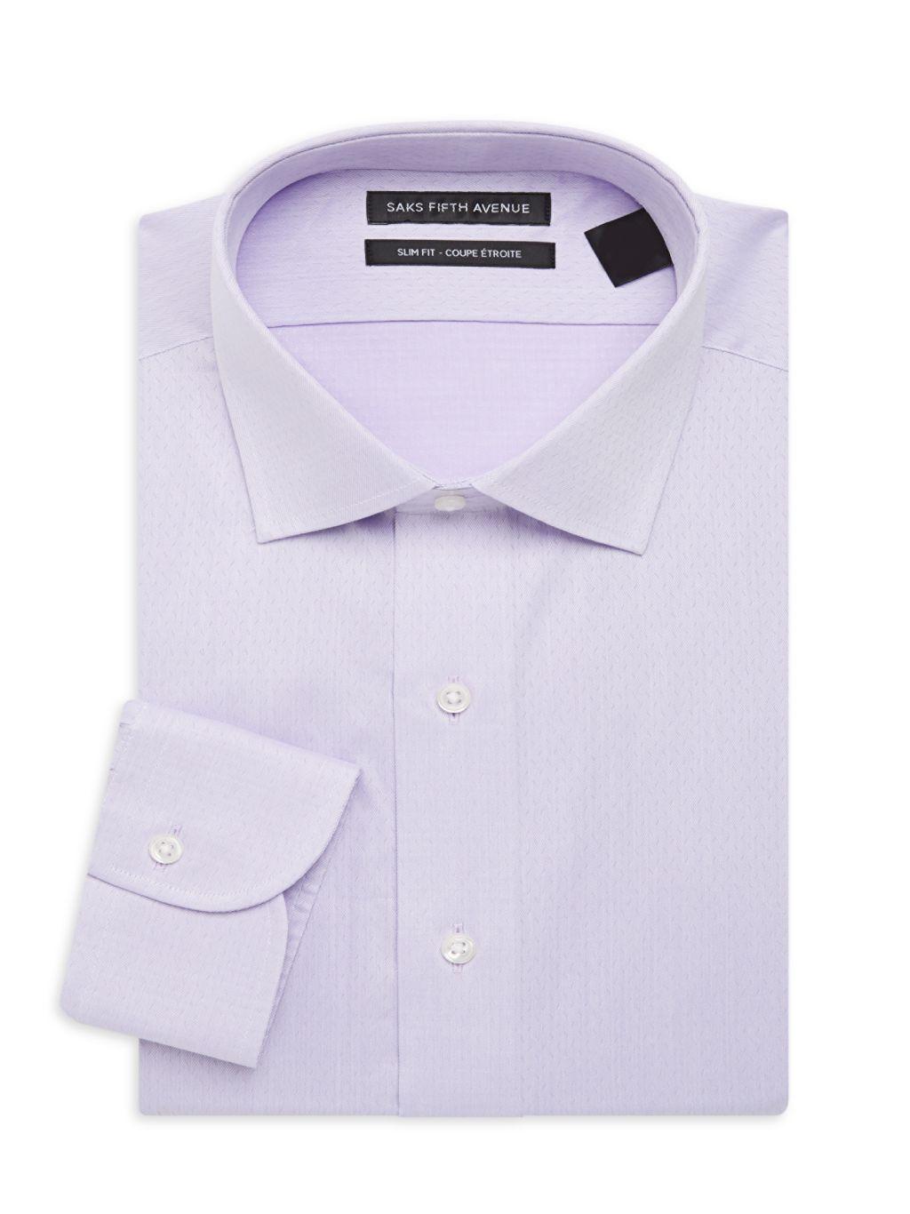 Saks Fifth Avenue Slim-Fit Dress Shirt