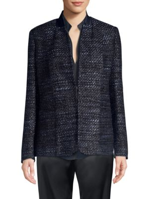 Elie Tahari Jackets Tori Tweed Jacket