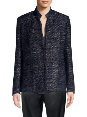 Elie Tahari Jackets Tori Tweed Jacket