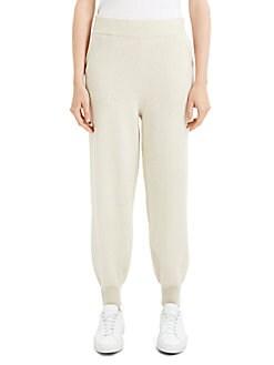 69a2a3b06e Theory. Wool & Cashmere Jogger Pants