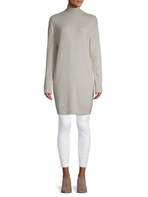 Ben Taverniti Unravel Project Tops Turtleneck Cashmere-Blend Tunic