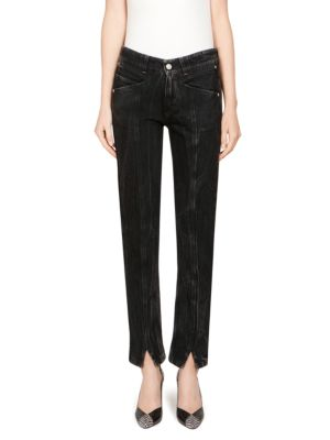Givenchy Jeans Embroidered Skinny Jeans