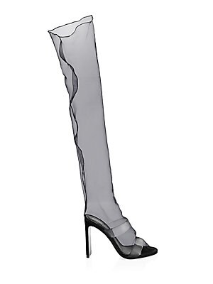 D'arcy Family Sheer Knee High Boots by Nicholas Kirkwood