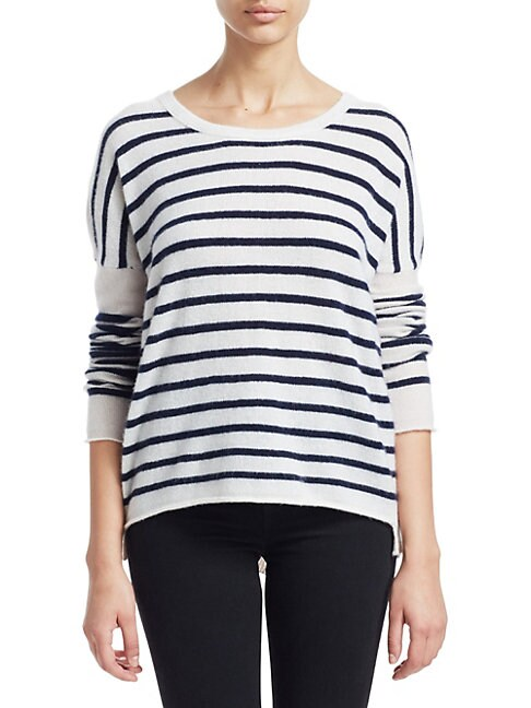 ATM ANTHONY THOMAS MELILLO | Striped Cashmere Pullover | Goxip