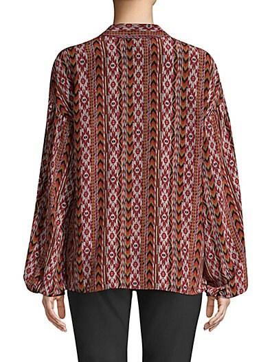 2cf943f3f969d9 ... Lafayette 148 New York Delora Silk Printed Blouse