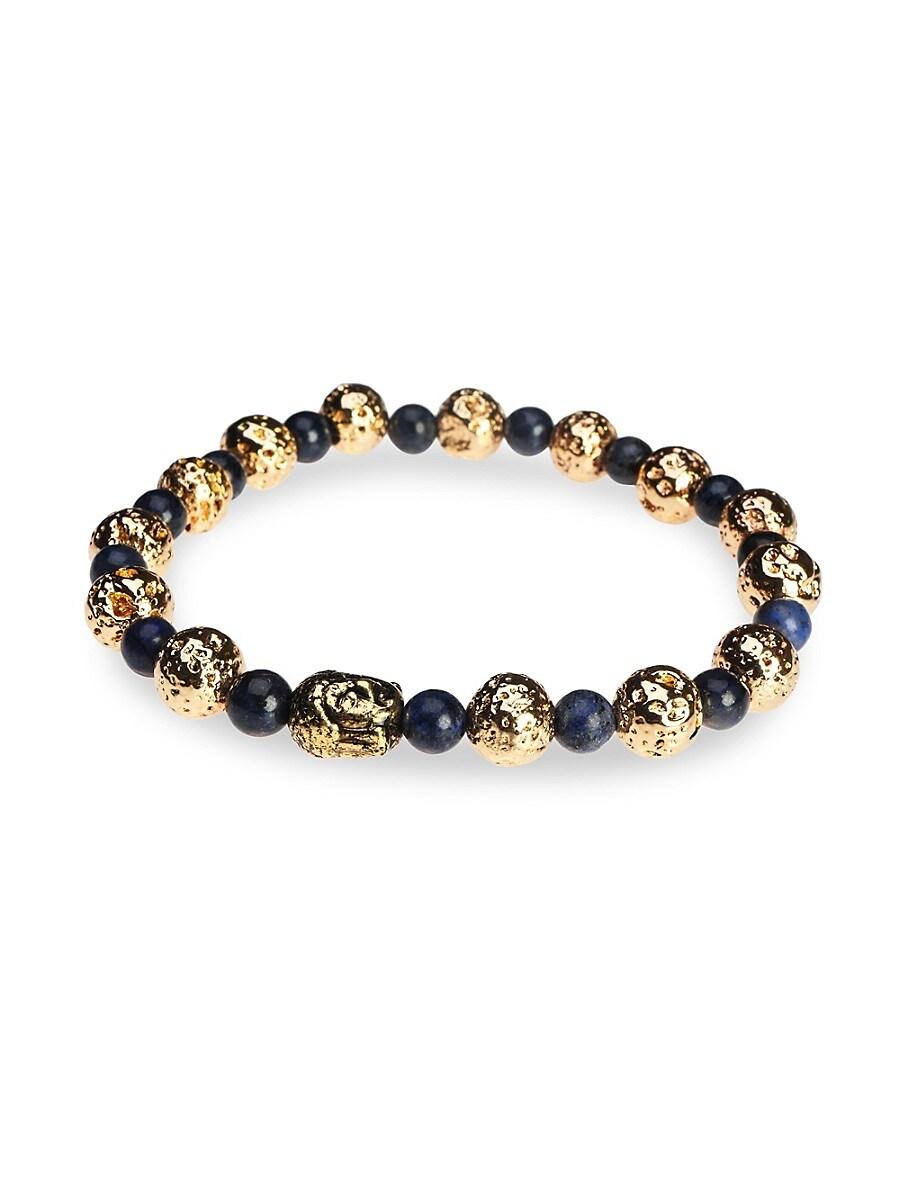 Men's Dell Arte Lava Stone Beaded Bracelet