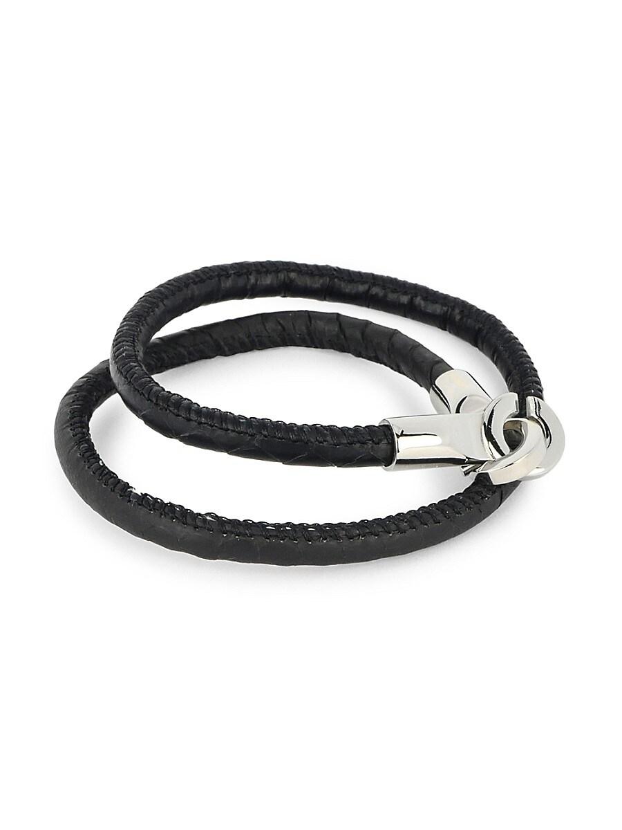 Men's Multi-Wrap Leather Bracelet
