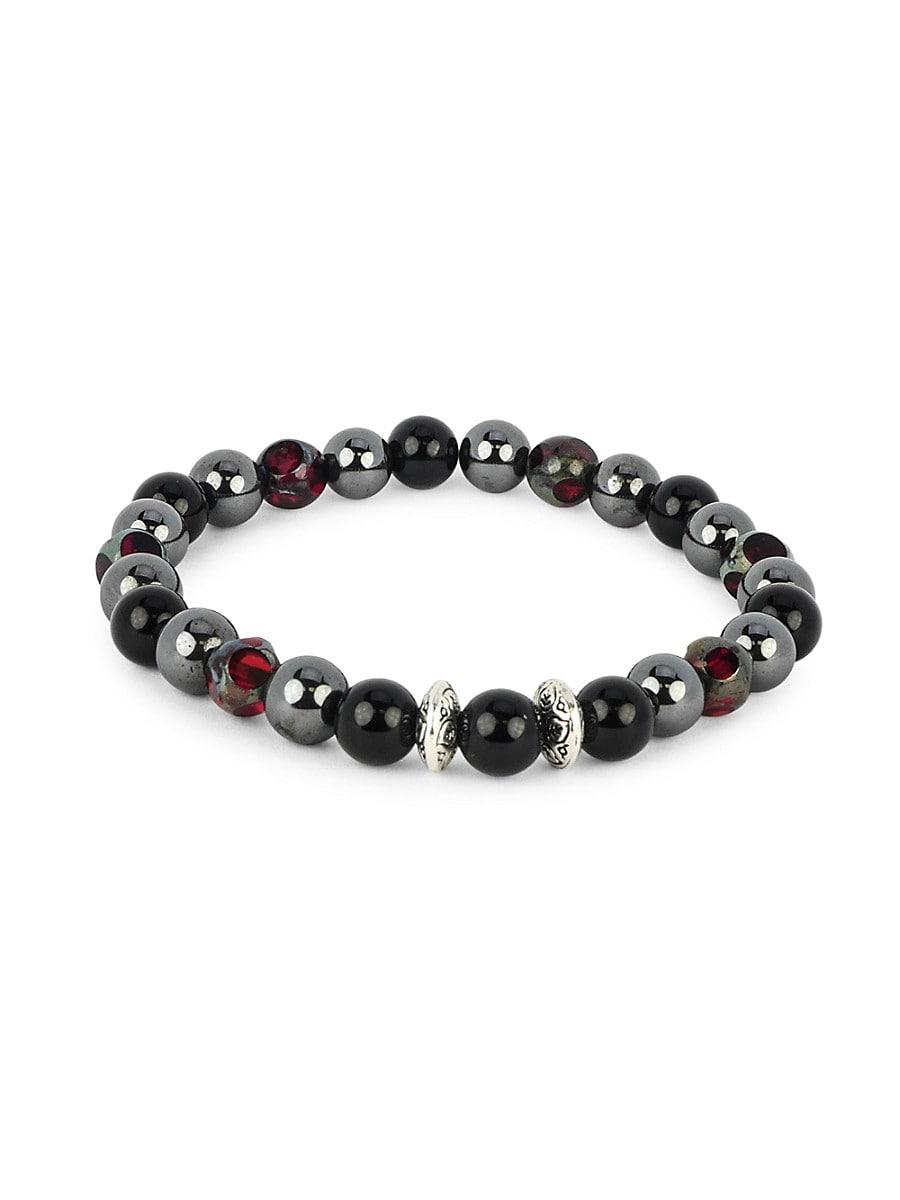 Men's Dell Arte Stretchable Beaded Bracelet
