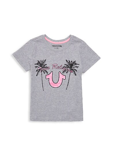 ff1404957 True Religion Little Girl s Cotton Graphic ...