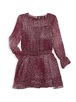 13d71063446 QUICK VIEW. Imoga. Little Girl s Star-Printed Tiered Dress