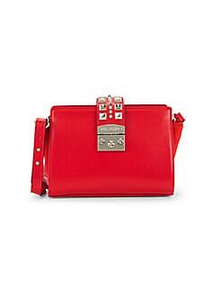 1a7b23c019b Product image. QUICK VIEW. Valentino by Mario Valentino. Kiki Madras  Rockstud Winged Leather Mini Bag