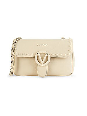 Poisson Studded Leather Crossbody Bag by Valentino By Mario Valentino