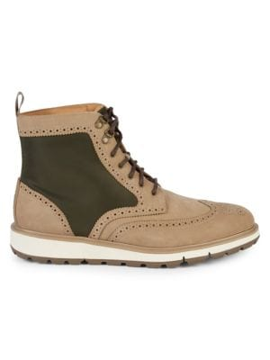 Swims Boots Motion Wing-Tip Brogue Boots