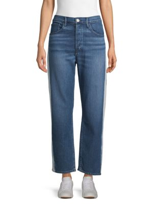 3x1 Jeans Straight-Leg Ankle Jeans