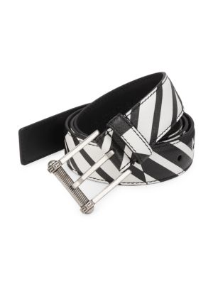 Versace Belts Classic Saffiano Leather Belt