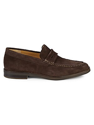 Exeter Suede Penny Loafers by Sperry