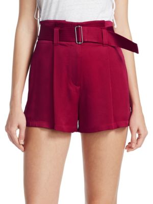 A.l.c Shorts Deliah Belted Shorts