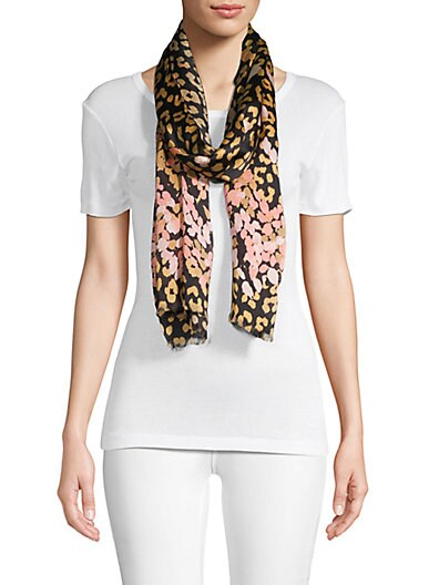ea71c2411808 Missoni Fringed Abstract Silk Scarf ...