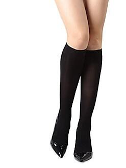 7be696d80aa Memoi. Opaque Knee-High Stockings