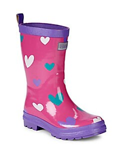 2bbc7a8aa49ad Product image. QUICK VIEW. Hatley. Girl s Pretty Hearts Rain Boots