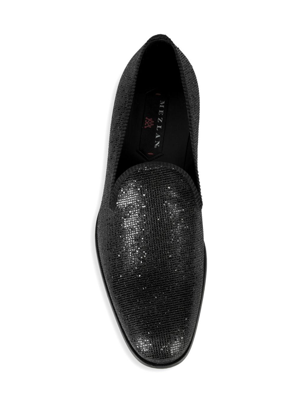 Mezlan Matisse Suede & Textile Loafers