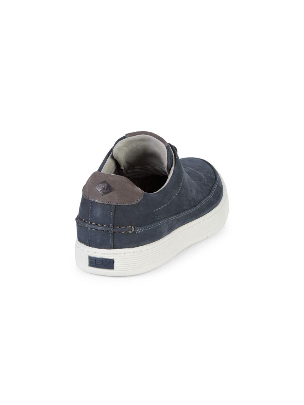 Sperry Milbridge Low-Top Leather Sneakers