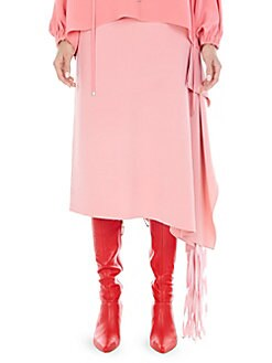7ae785f777070b Side Fringe Midi Skirt PINK HAZE. QUICK VIEW. Product image