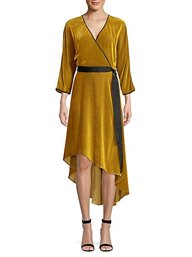 b06f3704ea3 Diane von Furstenberg Eloise Stretch Silk Wrap Dress ...