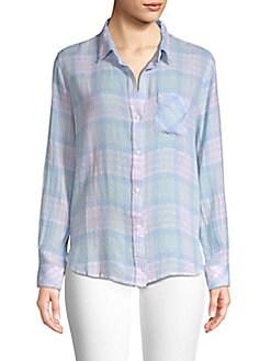 0c41682e615aab Rails. Charli Plaid Button-Down Shirt