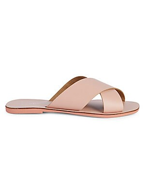 Total Relaxation Crisscross Leather Sandals by Seychelles