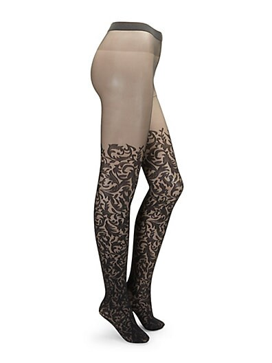 eca5c1ec95a Wolford Daphne Stretch Tights ...