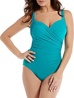 496559110a QUICK VIEW. Miraclesuit Swim. Must Haves Sanibel One-Piece Swimsuit
